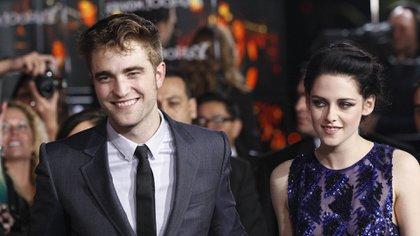 """Robert Pattinson y Kristen Stewart trabajaron juntos en las cinco películas de """"Crepúsculo"""""""