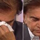 La emoción de El Puma Rodríguez en la televisión
