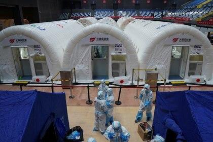 """""""Solidaridad"""" es un ensayo clínico internacional puesto en marcha por la Organización Mundial de la Salud y sus asociados para encontrar un tratamiento eficaz contra la COVID‑19 (CHINA DAILY vía REUTERS)"""