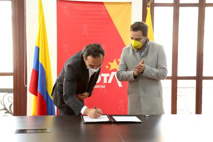 Por primera vez, la Secretaría de Gobierno adelanta una alianza con el sector privado para la inclusión del enfoque diferencial étnico. Foto: Secretaría de Gobierno de Bogotá.