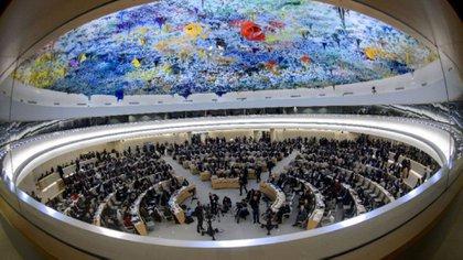 Recinto del Consejo de Derechos Humanos de la ONU, en Ginebra (AFP)