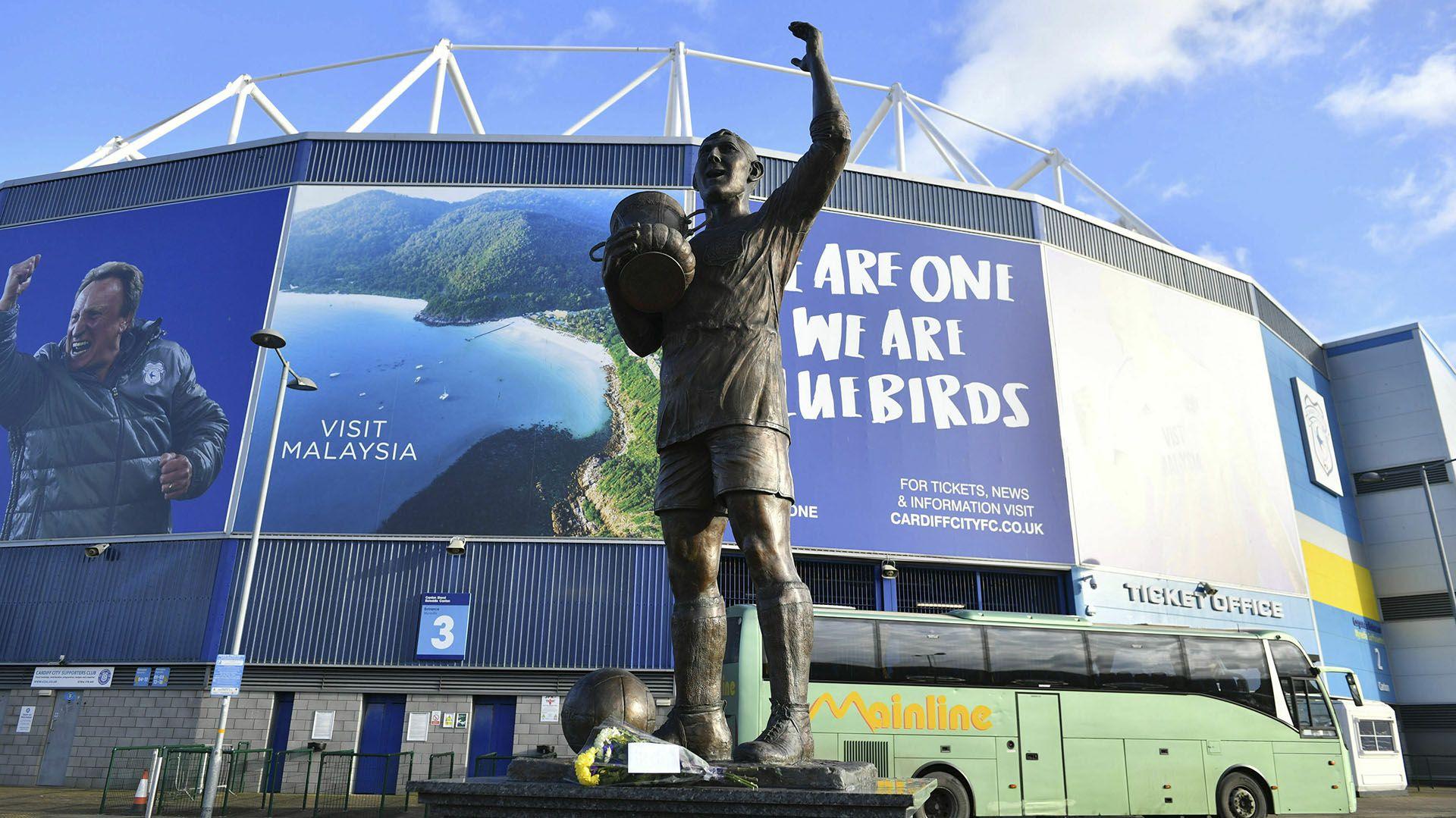 El futbolista acababa de firmar un nuevo contato con el Cardiff