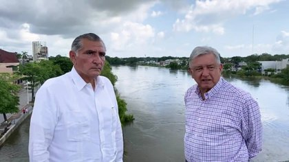 President López Obrador indicated that Governor Adán Augusto reached an agreement for Tabasco residents to access Rate 1F, the lowest in the country (Photo: Screenshot)