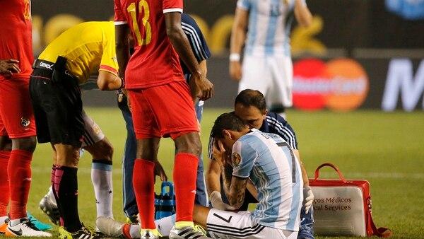 Angel Di María confeso estar tratando sus tema con las lesiones con un psicólogo