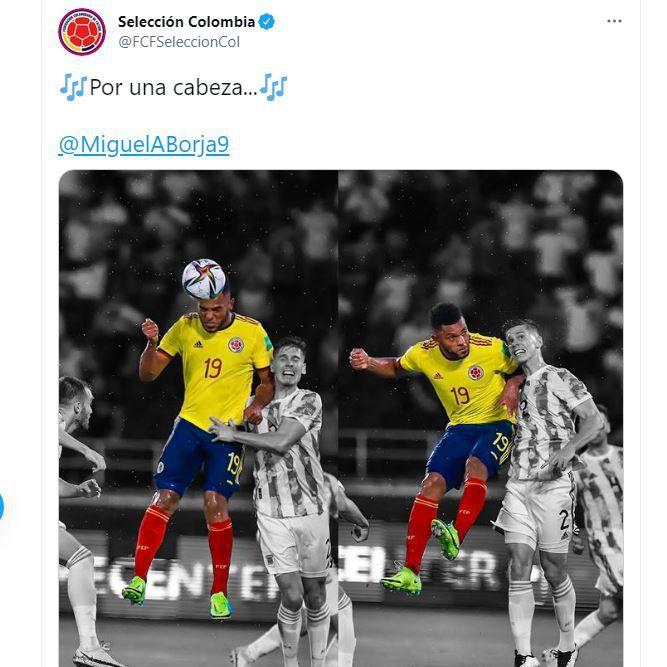 tuit selección colombia foyth argentina