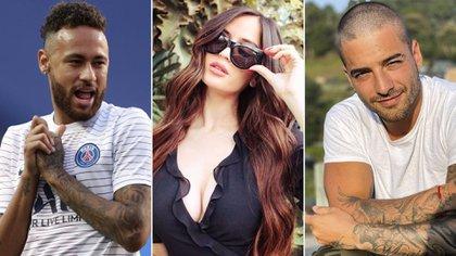 La pareja empezó a mantener una relación que, luego de meses, se terminó bajo el escándalo de una supuesta infidelidad de Natalia a Maluma con el futbolista brasilero, Neymar.