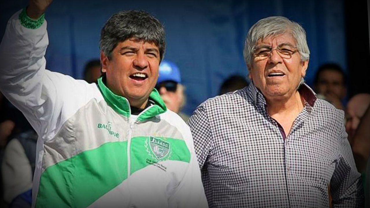 Pablo y Hugo Moyano comenzaron la paritaria 2021