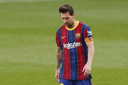 Lionel Messi no tiene el futuro asegurado en el Barcelona (REUTERS)