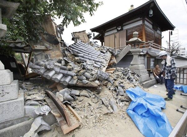 Japón también ha sido afectado por la inestabilidad del Anillo de Fuego(Kyodo/via REUTERS)