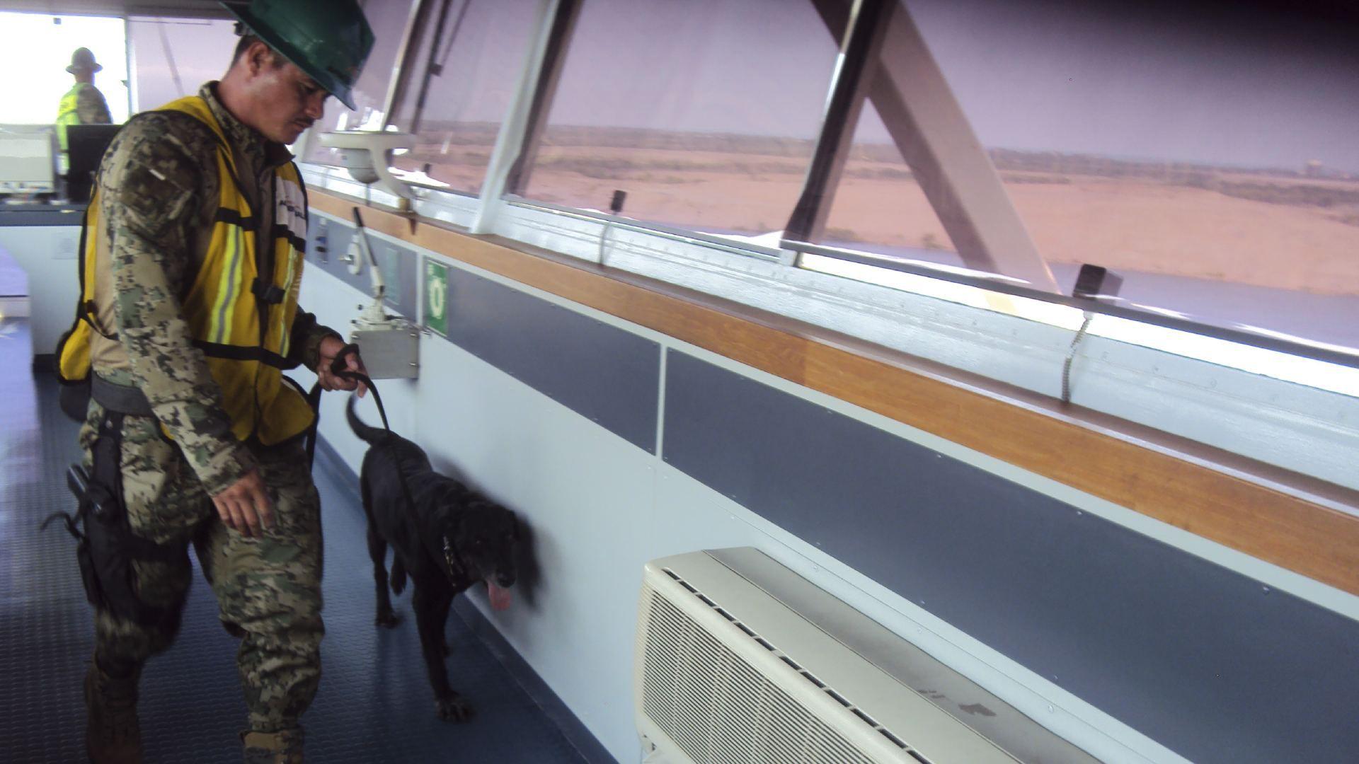 El último decomiso de fentanilo en agosto lo hizo la Marina en el puerto Lázaro Cárdenas, en Michoacán (Foto: Cuartoscuro)