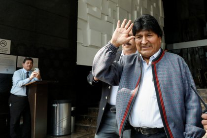 El ex presidente de Bolivia, Evo Morales, en su exilio en México (Reuters)