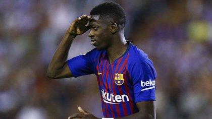 Las lesiones marcan el camino de Dembelé en Barcelona