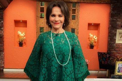 Pati Chapoy consideró que la cercanía entre ambos famosos podría propiciar un embarazo (Foto: @VentaneandoUno)