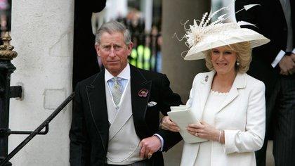 Camilla Parker Bowles, fue la amante más famosa de la historia, la tercera en discordia del matrimonio entre Carlos y Lady Di (Getty Images)