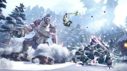 El combate es una de las grandes facetas de Immortals Fenyx Rising.