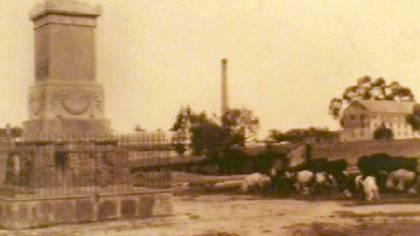 """El terreno donde se encontraba el rancho """"Las Hormigas"""", antecedente de Los Pinos. (Archivo Residencia oficial de Los Pinos)"""