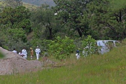 Esta mañana se retomaron los trabajos de búsqueda de cuerpos en la colonia Primavera (Foto: Cuartoscuro)