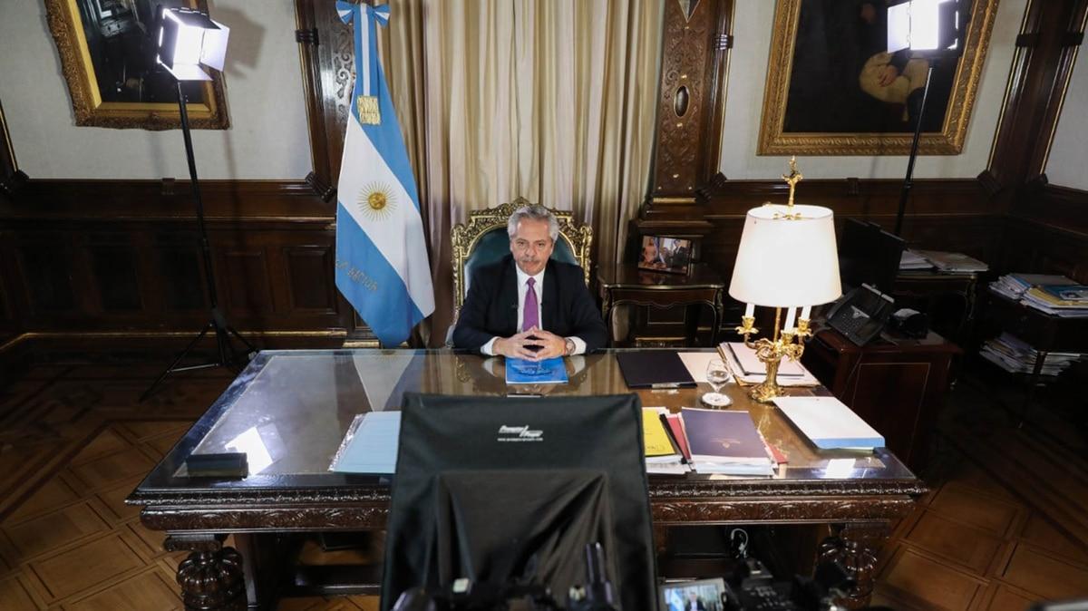 """Alberto Fernández: """"Paremos la Argentina por 10 días y quedémonos en nuestras casas"""" - Infobae"""