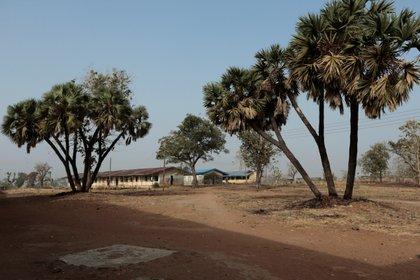 Dormitorios escolares en la Escuela de Ciencias del Gobierno en Kagara, estado de Níger, Nigeria, el 18 de febrero de 2021. REUTERS / Afolabi Sotunde