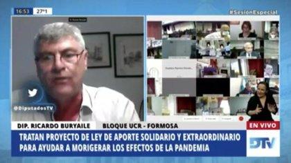 Ricardo Buryaile, diputado nacional por Formosa