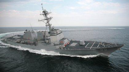 El USS Farragut. Foto: AP