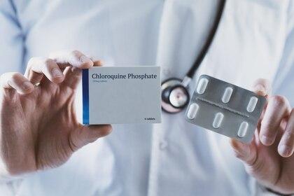 El fosfato de Cloroquina se utiliza para la malaria (Shutterstock)