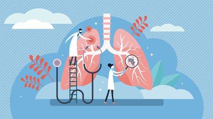 El uso del barbijo, en épocas de polinización, puede ayudar disminuir episodios de asma y de alergia (Shutterstock)