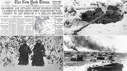 La batalla de Moscú comenzó el 2 de octubre de 1941 y para el 7 de enero de 1942 ya no había amenazas sobre la capital soviética