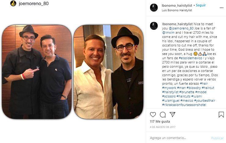(Foto: Instagram de Luis Bonomo)