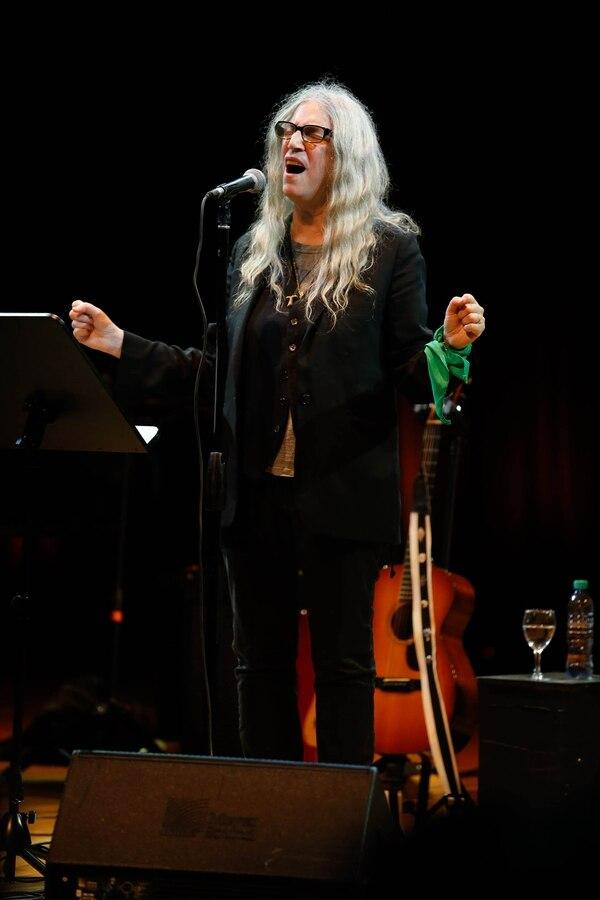 Una noche perfecta con Patti Smith, la Mesías del punk que conquistó Buenos Aires
