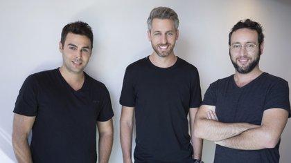 Omry Litvak, Dor Krubiner y Guy Levitan, creadores de Hotelmize.