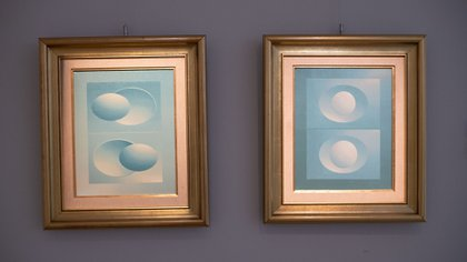 """""""El arte es para todos. Aunque no todo el mundo lo pueda comprar"""", dijo Daniel Maman (Fotos Lihueel Althabe)"""