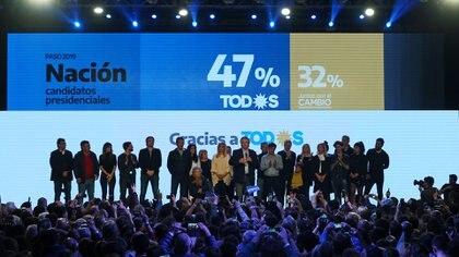 El Frente de Todos se impuso por 15 puntos (REUTERS/Agustin Marcarian)