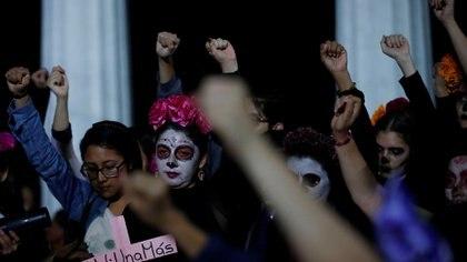 Protestas contra los asesinatos de mujeres (Foto: Reuters)