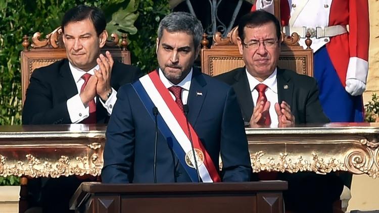 Mario Abdo Benítez, presidente de Paraguay (Reuters)