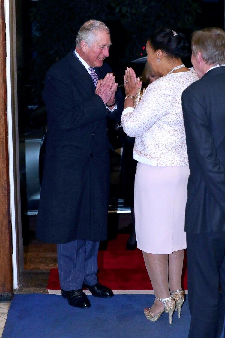 El príncipe Carlos durante un evento en Marlborough House, Londres, el 9 de marzo
