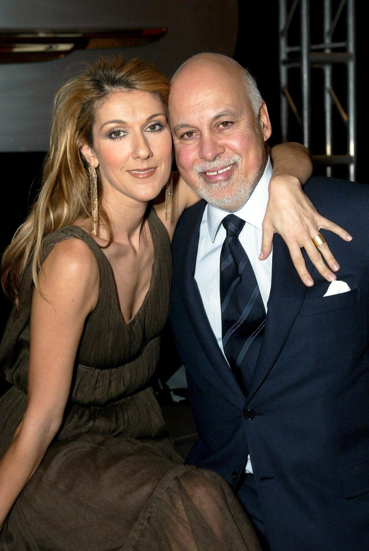 Celine Diony Rene Angelil, quien murió a los 73 años tras una larga contra el cáncer (The Grosby Group)
