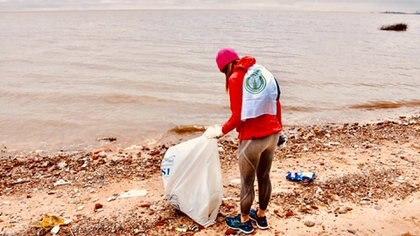 La ONG nació en el ámbito del running y tiene como premisa generar conciencia ambiental