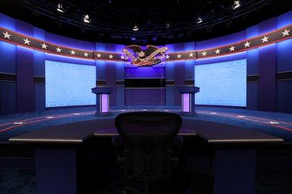El último debate presidencial tendá lugar en Nashville, Tennessee. Foto: REUTERS/Jonathan Ernst
