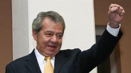 Muñoz Ledo ha encabezado la presidencia nacional de dos partidos políticos: PRI y PRD (Foto: Cuartoscuro)