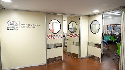 La Unidad de Contención Estacional atiende la demanda de internaciones por patologías estacionales (Foto: Hospital Garrahan)