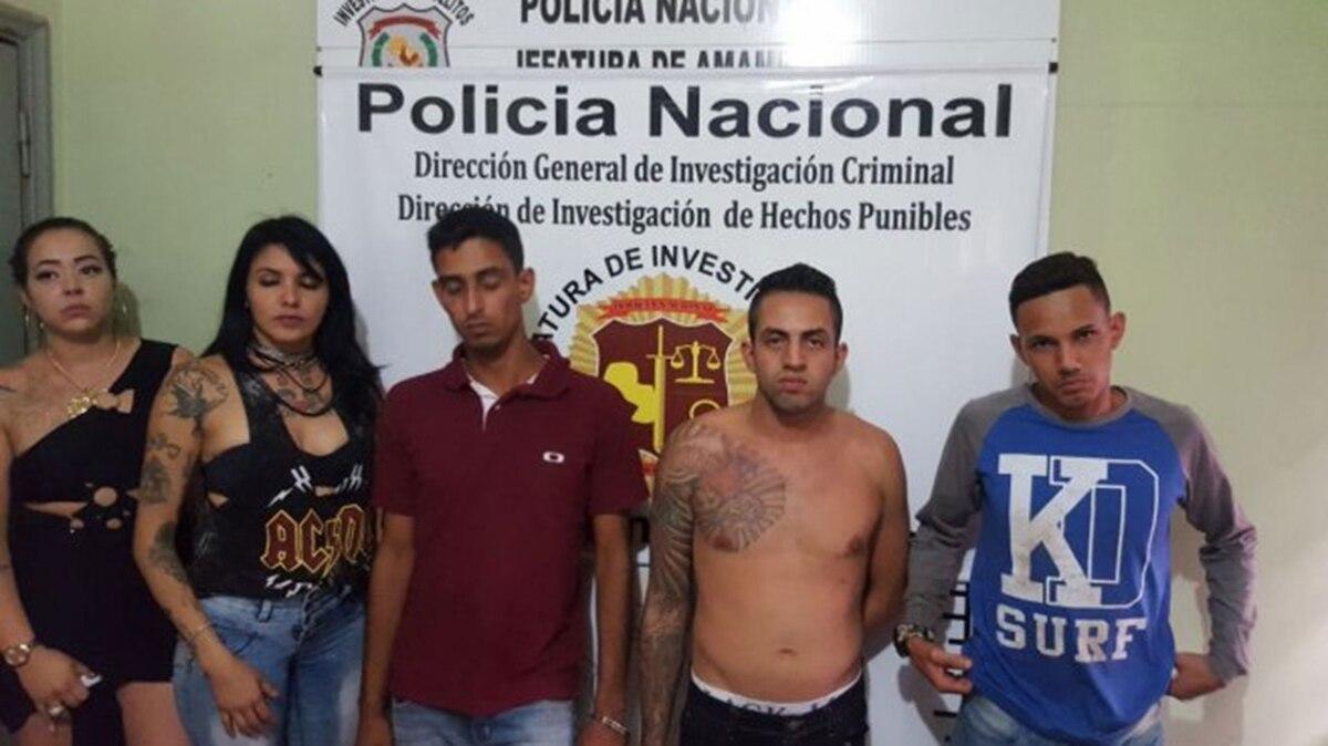 La policía paraguaya arrestó a cinco miembros del grupo criminal PCC en la  ciudad de Pedro Juan Caballero - Infobae