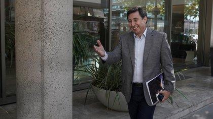 El ministro de Desarrollo Social Daniel Arroyo fue la voz autorizada del Gobierno a la hora de expresar el resultado de la reunión (Pablo Barrera)