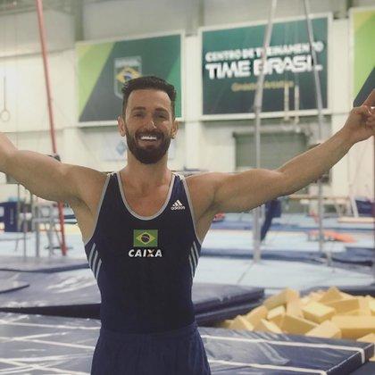 Diego Hypólito, gimnasta brasileño, hizo pública su homosexualidad y contó lo que sufrió por ocultar su condición sexual (Instagram)