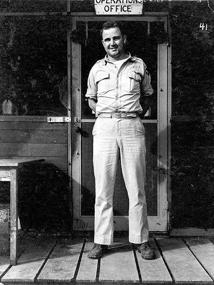 El piloto Charles Sweeney lanzó la bomba sobre Nagasaki (Wikipedia: Gobierno de EEUU)