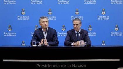 Ambos dirigentes se mostraron confiados de cara a octubre (Gustavo Luis Gavotti)