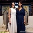 GRAF9834. BUENOS AIRES, 25/03/2019.- La reina Letizia junto a la primera dama de Argentina, Juliana Awada (d), durante el encuentro que mantuvieron hoy en Buenos Aires. EFE/Mariscal ***POOL***