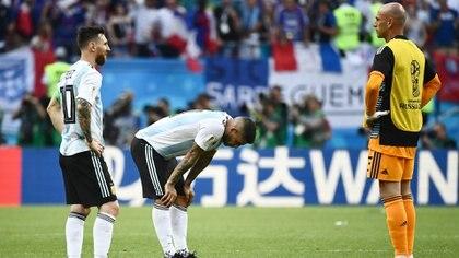 """Caballero sobre Messi: """"Para los momentos malos que vivimos, estuvo muy bien cómo se manejó; eso habla de un gran líder"""" (Foto: AFP)"""