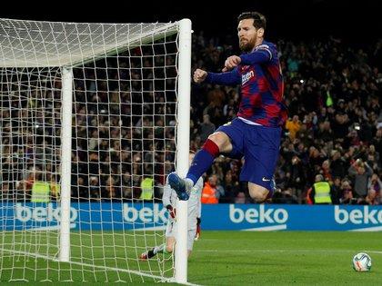 Messi se convirtió en uno de los mejores futbolistas de la historia (REUTERS/Albert Gea)