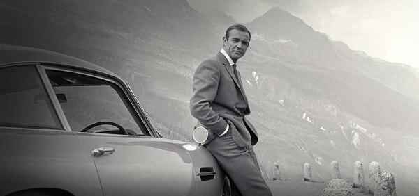 Sean Connery inmortalizó al DB5 en el film â??Goldfingerâ?de 1964